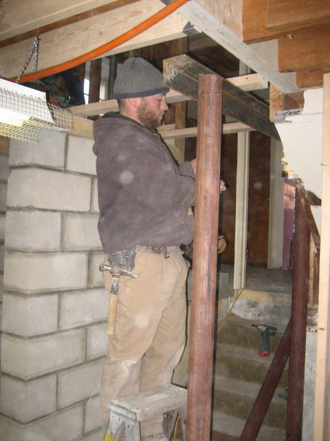 Jeremy Brown, mason and builder