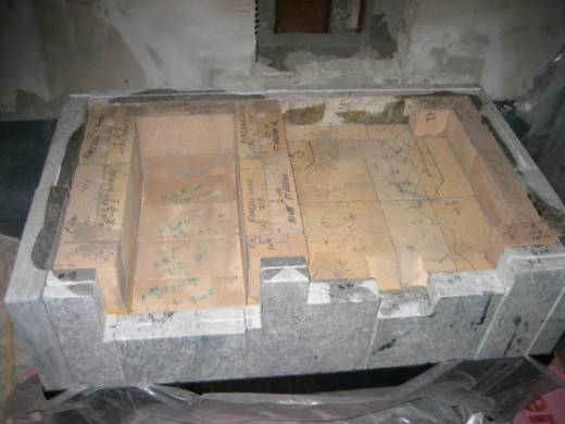 First Courses of Fire Brick