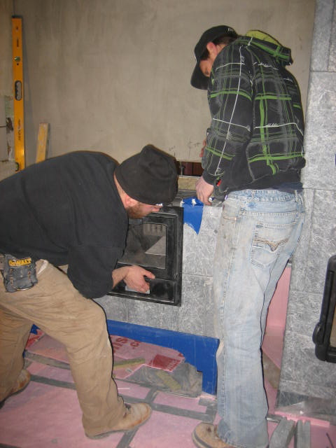 Seating the oven
